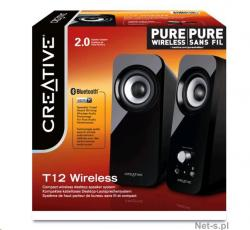 altavoces creative 2.0 t12 wireless
