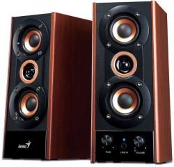 altavoces genius sp-hf800a madera